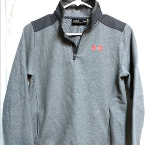 Under Armor Half Zip Youth Large